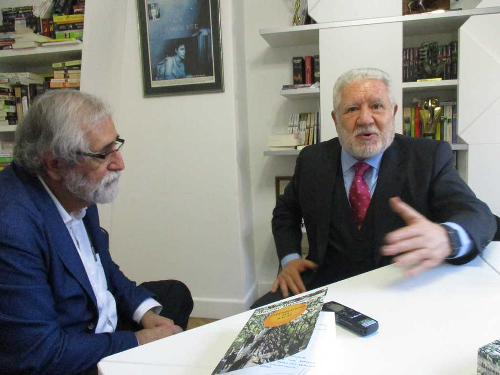 И Висенс Виляторо, и Луис Басат са убедени, че въпросът за каталонската независимост трябва да бъде поставен на гласуване. Снимка: Къдринка Къдринова