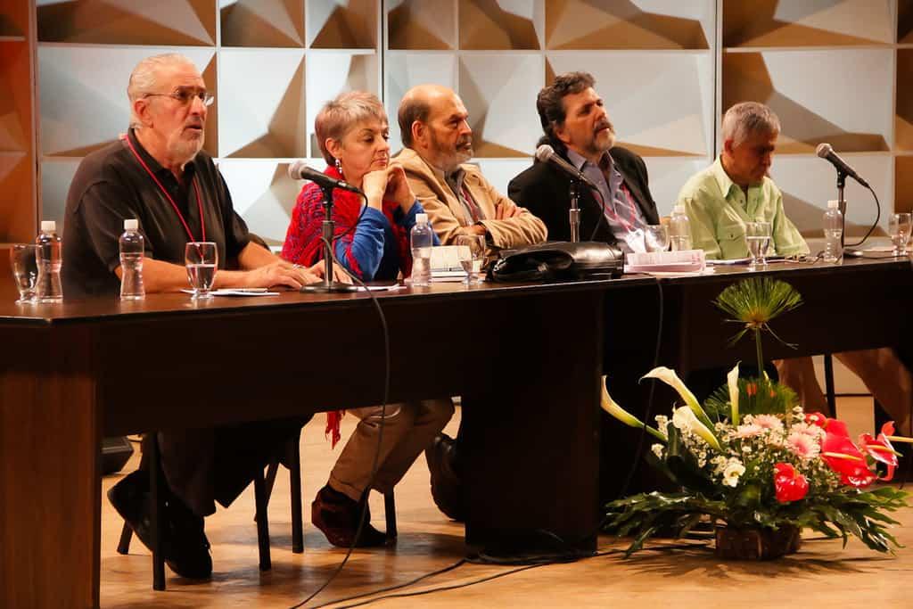 Момент от миналагадишно заседание на Мрежата на интелектуалците в защита на човечеството в Каракас. Снимка: humanidadenred.org.ve