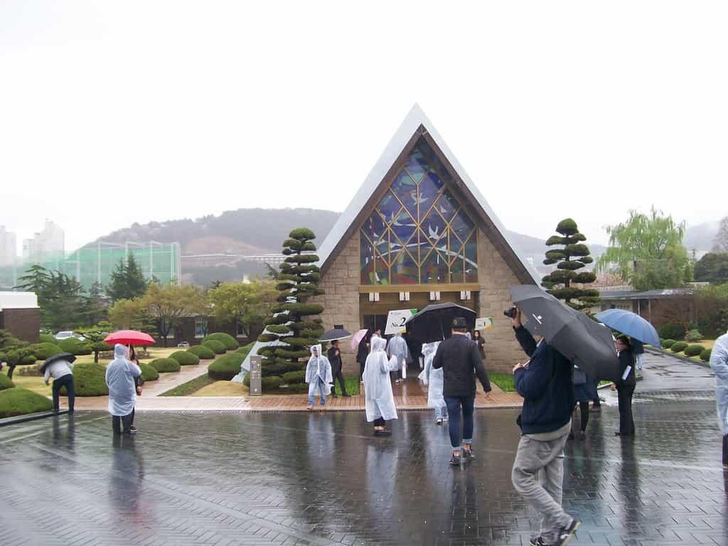 Музеят към Мемориалното гробище на ООН. Снимка: Къдринка Къдринова