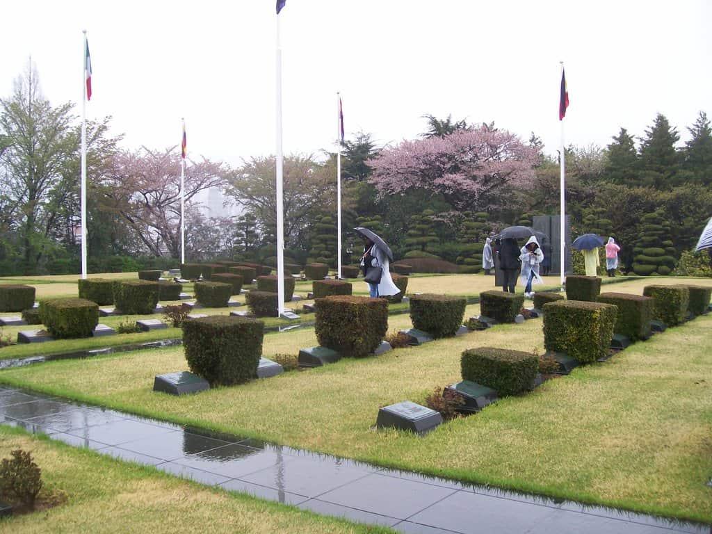 Мемориалното гробище на ООН в Пусан. Снимка: Къдринка Къдринова
