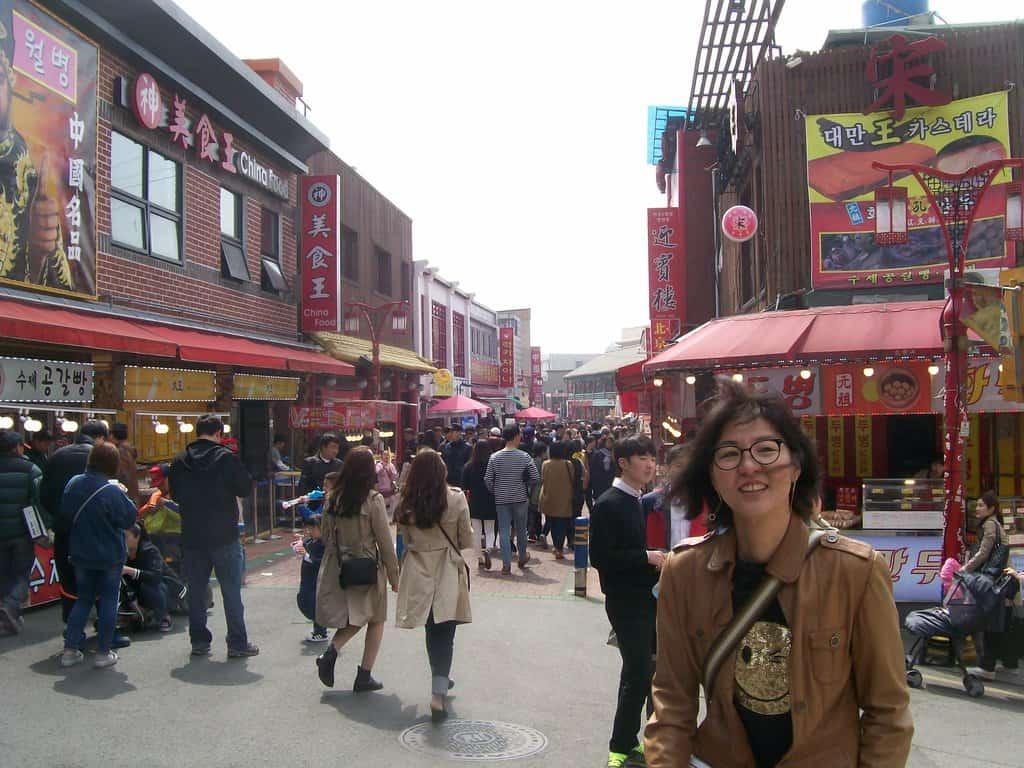 В Китайския квартал винаги е оживено. Снимка: Къдринка Къдринова