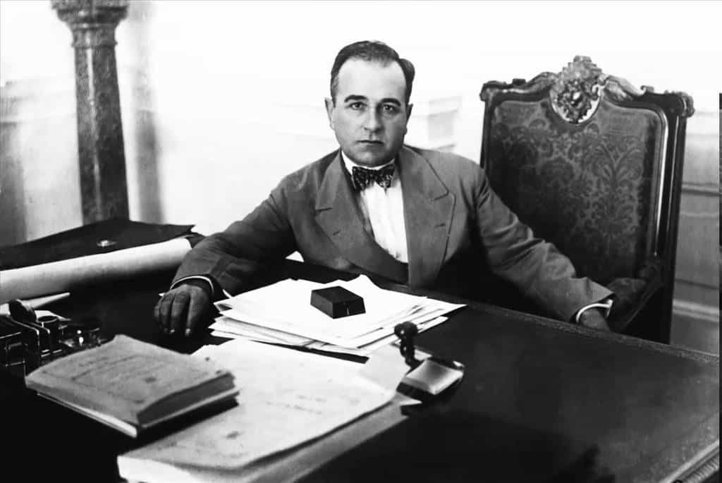 Жетулио Варгас през 30-те години на миналия век. Снимка: YouTube