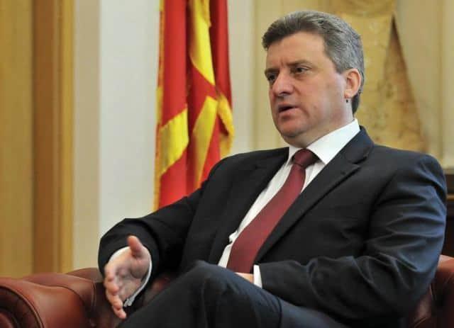 Президентът Георге Иванов. Снимка: IBNA