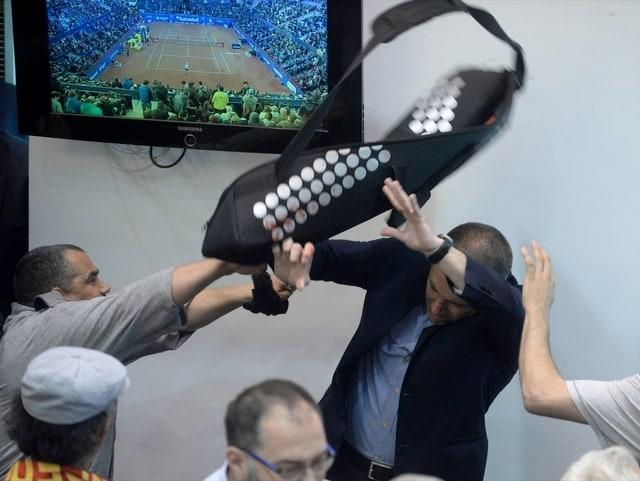 Разиграха се отблъскващи сцени на насилие. Снимка: Anadolu Agency