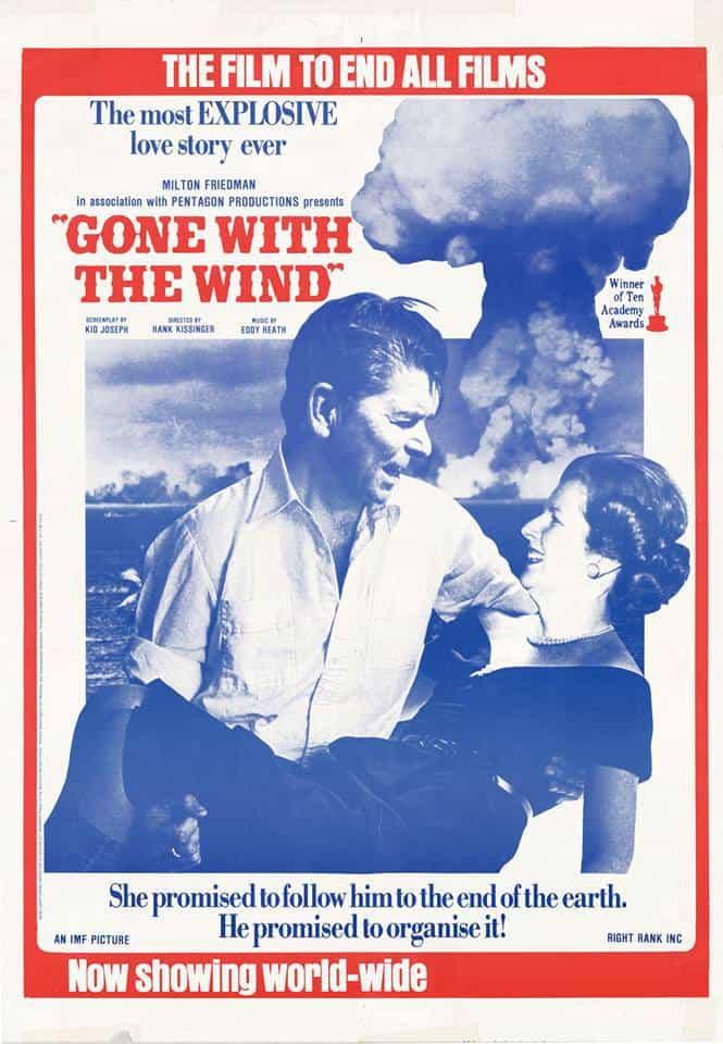 """""""Отнесени от вихъра"""" с Рон и Меги – """"Тя му обещава да го следва до края на света, той ѝ обещава да го организира"""". Снимка: архив"""