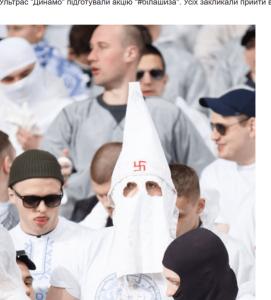 Един от феновете на Шахтьор Донецк. Източник: blogs.pravda.com.ua