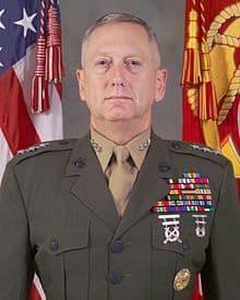 Джеймс Матис (James Mattis), снимка: Укимедия Комънс (Wikimedia Commons).
