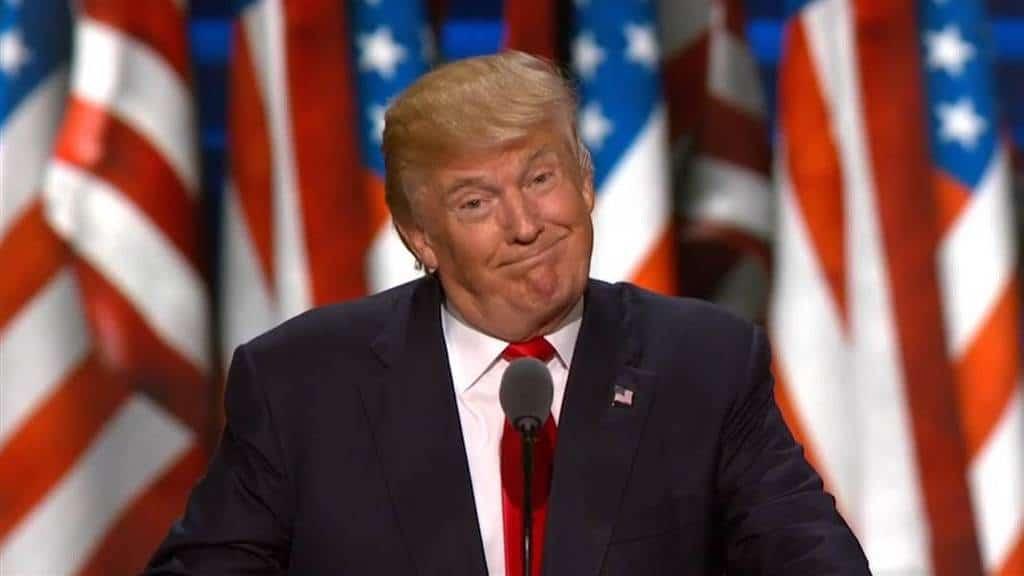 Доналд Тръмп очевидно е доволен от военните си подвизи напоследък. Снимка: NBC News