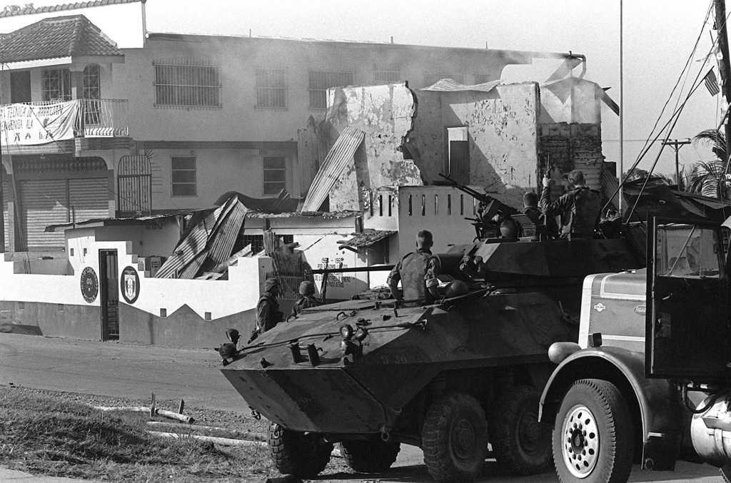 """""""Справедлива кауза"""" е назована войната на САЩ срещу миниатюрна Панама в края на 1989 г. Снимка: Уикипедия"""
