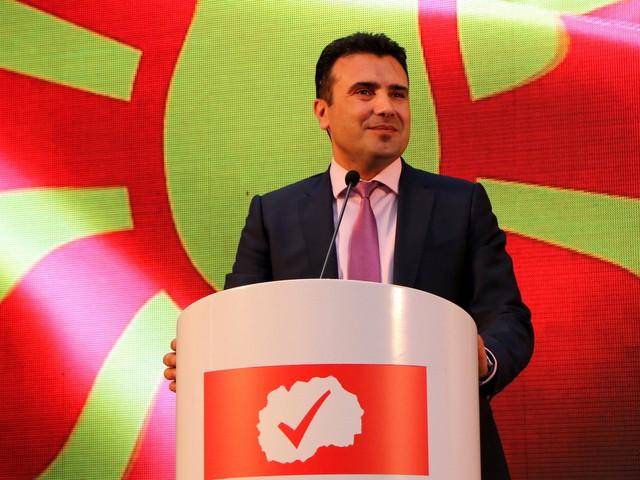 Зоран Заев оповести състава на своя проекто-кабинет. Снимка: SDSM