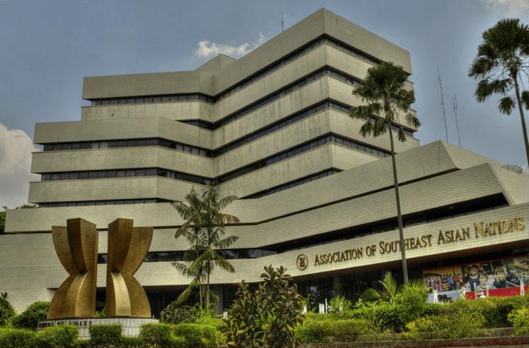 Сградата на Секретариата на АСЕАН в Джакарта. Снимка: chinareportasean