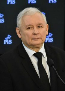 Jarosław Kaczyński, the leader of Law and Justice and the mastermind of the 'good change'. He is often jokingly referred to as the Chairman of the State. Source: Wikimedia Commons