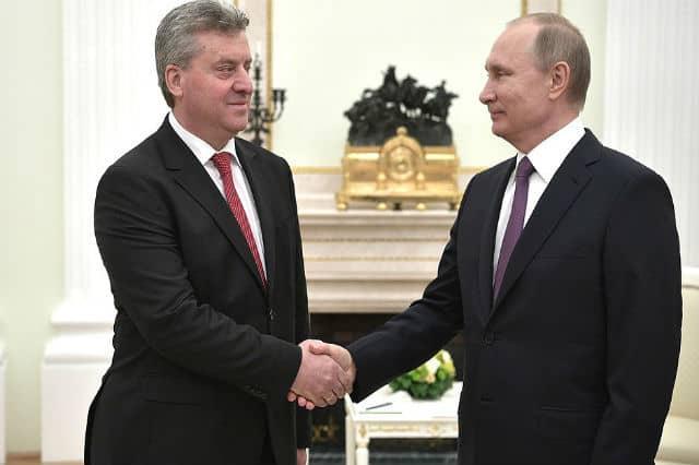 По време на срещата между Георге Иванов и Владимир Путин в Кремъл. Снимка: kremlin.ru