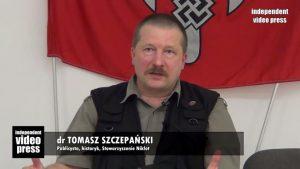 Томаш Шчепански, кадър от видео клип в Ютюб.