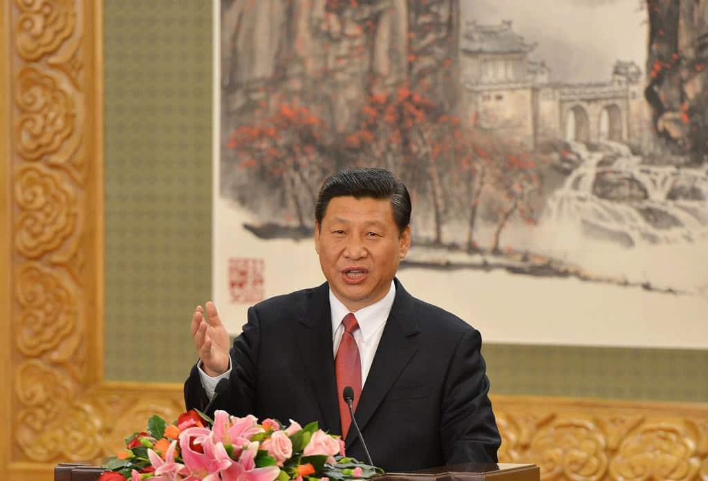 """Китайският президент Си Цзинпин се обърна със стратегическа реч към участниците в пекинския форум """"Един пояс, един път"""". Снимка: brecorder"""