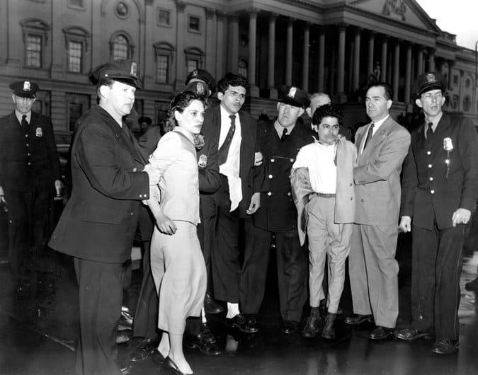 Четворката борци за независимост току-що са изведени от Конгреса: Снимка: архив