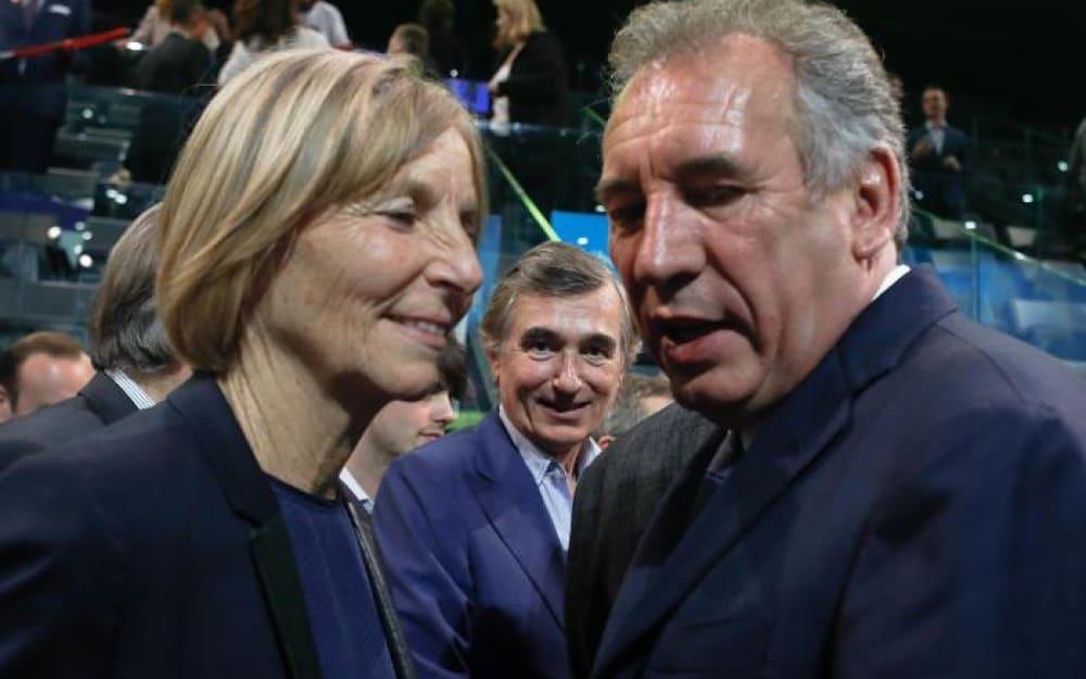 Мариел де Сарне и Франсоа Бейру. Снимка: Le Parisien