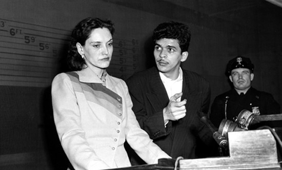 Лолита Леброн и Рафаел Кансел по време на процеса срещу тях. Снимка: архив