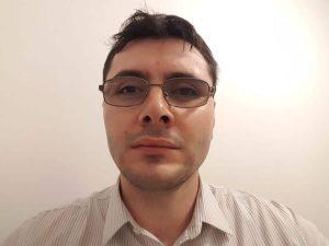 Дан Кица. Снимката е от неговия личен блог