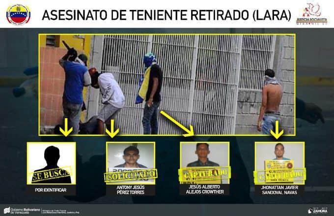 Моментът на убийството, извършено от четирима души, от които един още не е идентифициран. Снимка: albaciudad