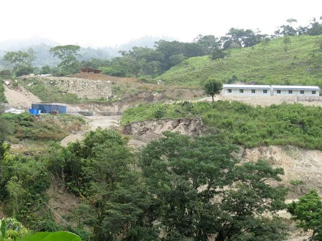 Това е районът около река Гуалкарке в Западен Хондурас, за който бе предвиден строежът. Снимка: Resumen Latinoamericano