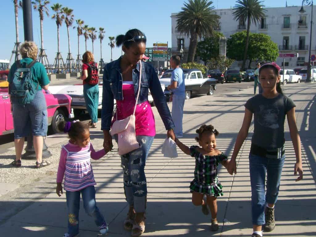 Днес децата са единствената привилигерована класа в Куба. Снимка: Къдринка Къдринова