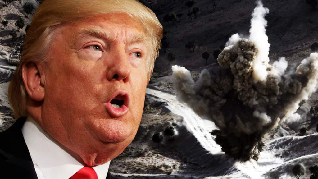 Тръмп вече не иска изтегляне, а още американски войници в Афганистан. Илюстрация: The Daily Beast