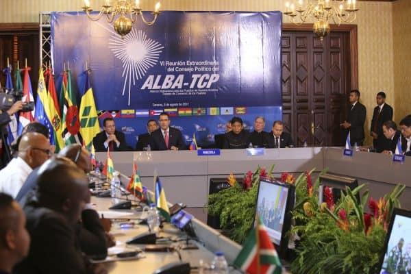 В Каракас се събра 6-тото извънредно заседание на Политическия съвет на ALBA-TCP. Снимка: VTV