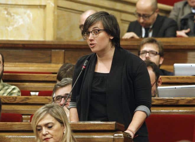 Депутатката от левичарската CUP Мирейя Боя. Снимка: El Mundo