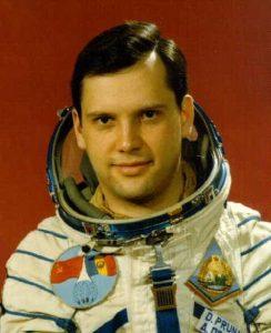 Румънският космонавт Думитру Прунариу лети през 1981 г.