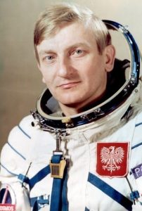 Полякът Мирослав Хермашевски лети през 1978 г.