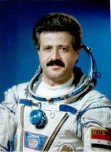 Сирийският космонавт Мухамед Ахмед Фарис лети през 1987 г.