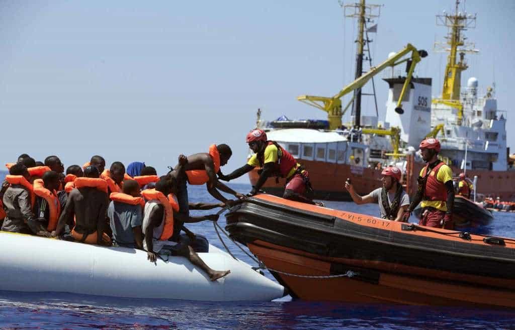 Либия вече не допуска в свои води хуманитарни организации, които да спасяват мигранти от лодките в Средиземно море. Снимка: nhregister