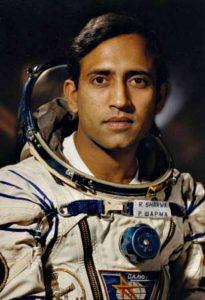 Индийският космонавт Ракеш Шарма лети през 1984 г.
