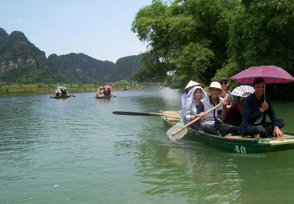 Природният резерват Чан Ан предлага отлични възможности и за екологичен, и за исторически туризъм. Снимка: Къдринка Къдринова