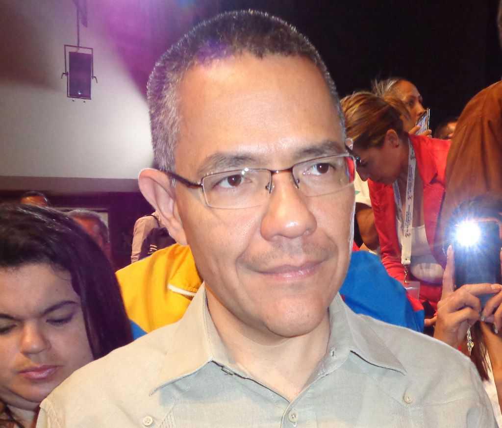 """Министърът на информацията и комуникацията на Венесуела направи специално изяявление за """"Барикада"""". Снимка: Къдринка Къдринова"""