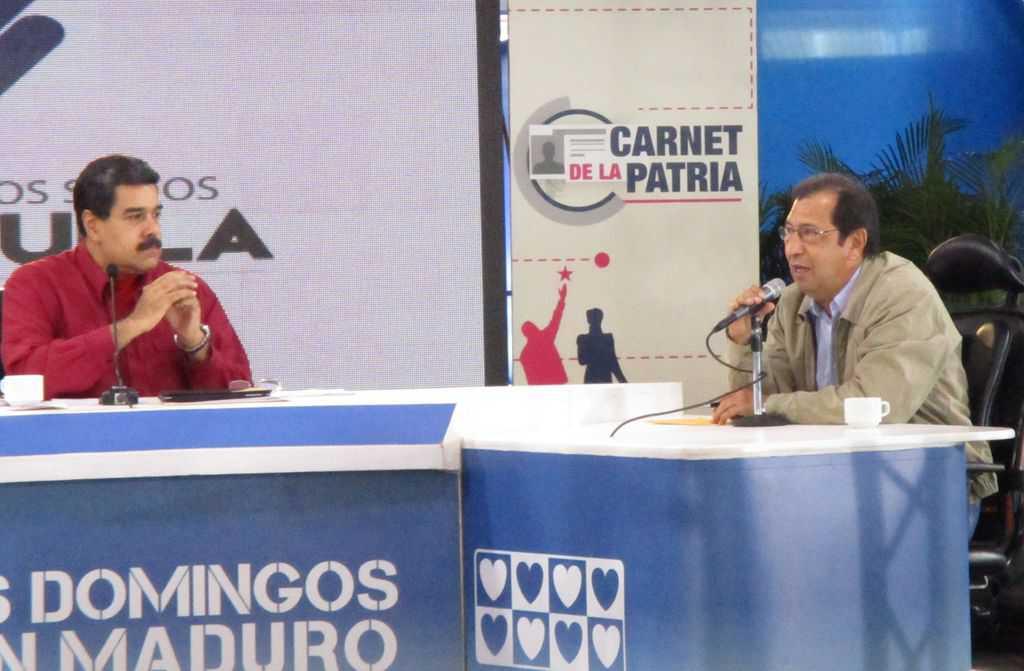 Николас Мадуро и Адан Чавес. Снимка: Къдринка Къдринова