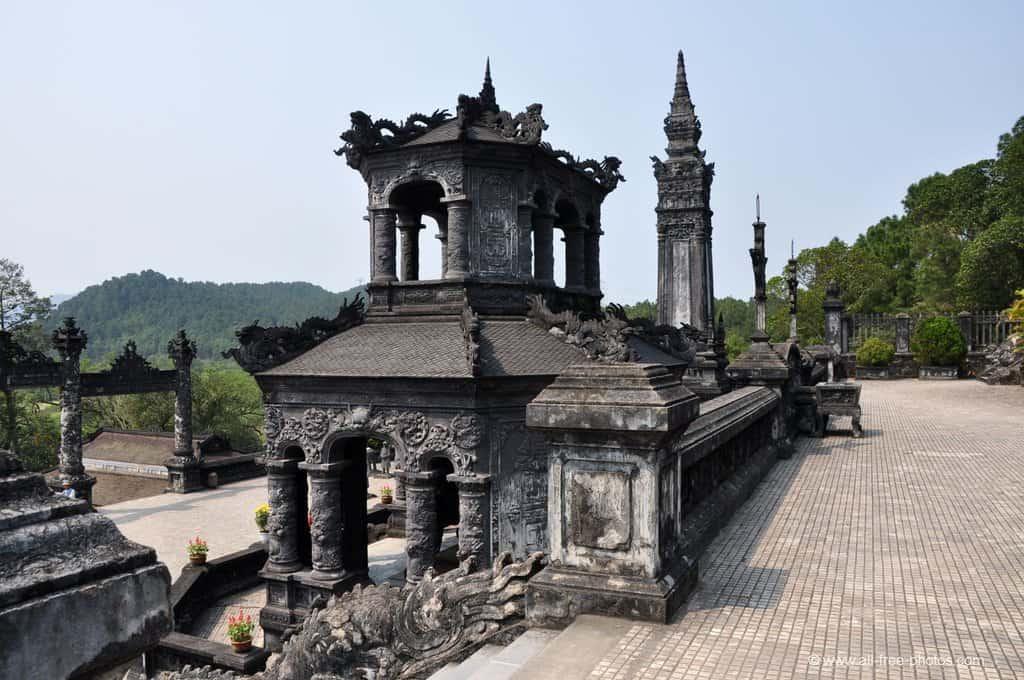 А ето и още един императорски мавзолей–в съвсем друг стил. Снимка: Къдринка Къдринова