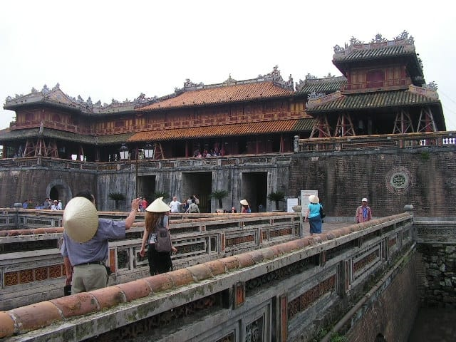 Цитаделата на старата виетнамска столица Хюе. Снимка: Къдринка Къдринова