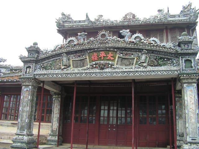 Част от дворцовия комплекс в Хюе. Снимка: Къдринка Къдринова