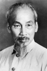 Хо Ши Мин като ръководител на Демократична Република Виетнам. Снимка: Уикипедия