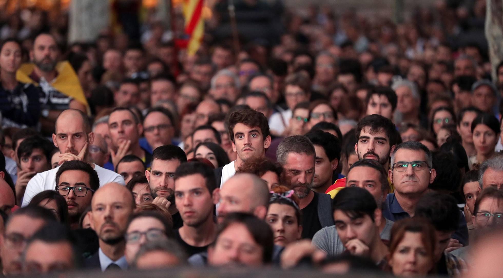 Привържениците на независимостта масово се почувстваха излъгани и предадени. Снимка: El Pais