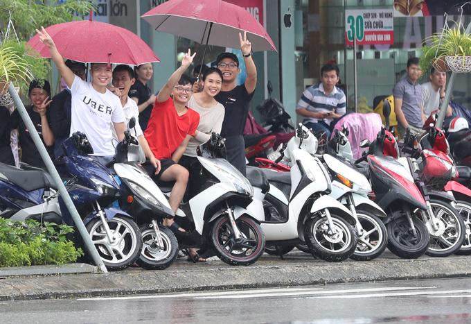 Дружелюбието на жителите на Да Нанг компенсира лошото време