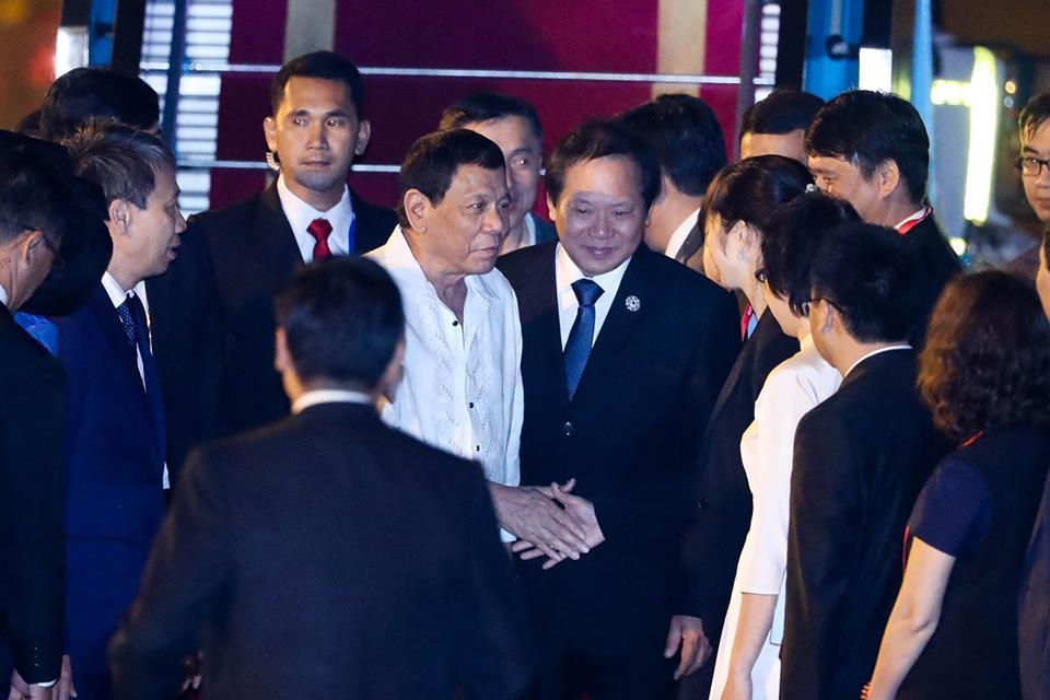 """""""Поразяващата уста""""–президентът на Филипините Родриго Дутерте, вече кацна в Да Нанг"""