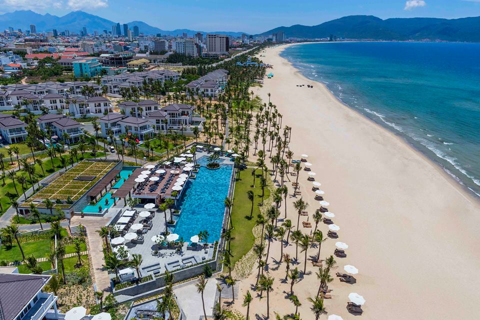 Прочутият плаж на Да Нанг днес е смятан за един от най-добрите в света