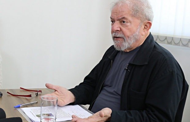 Инасио Лула да Силва по време на интервюто. Снимка: Brasil de Fato