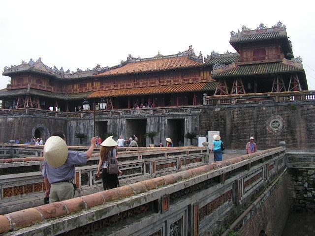 Цитаделата на императорите в град Хюе. Снимка: Къдринка Къдринова