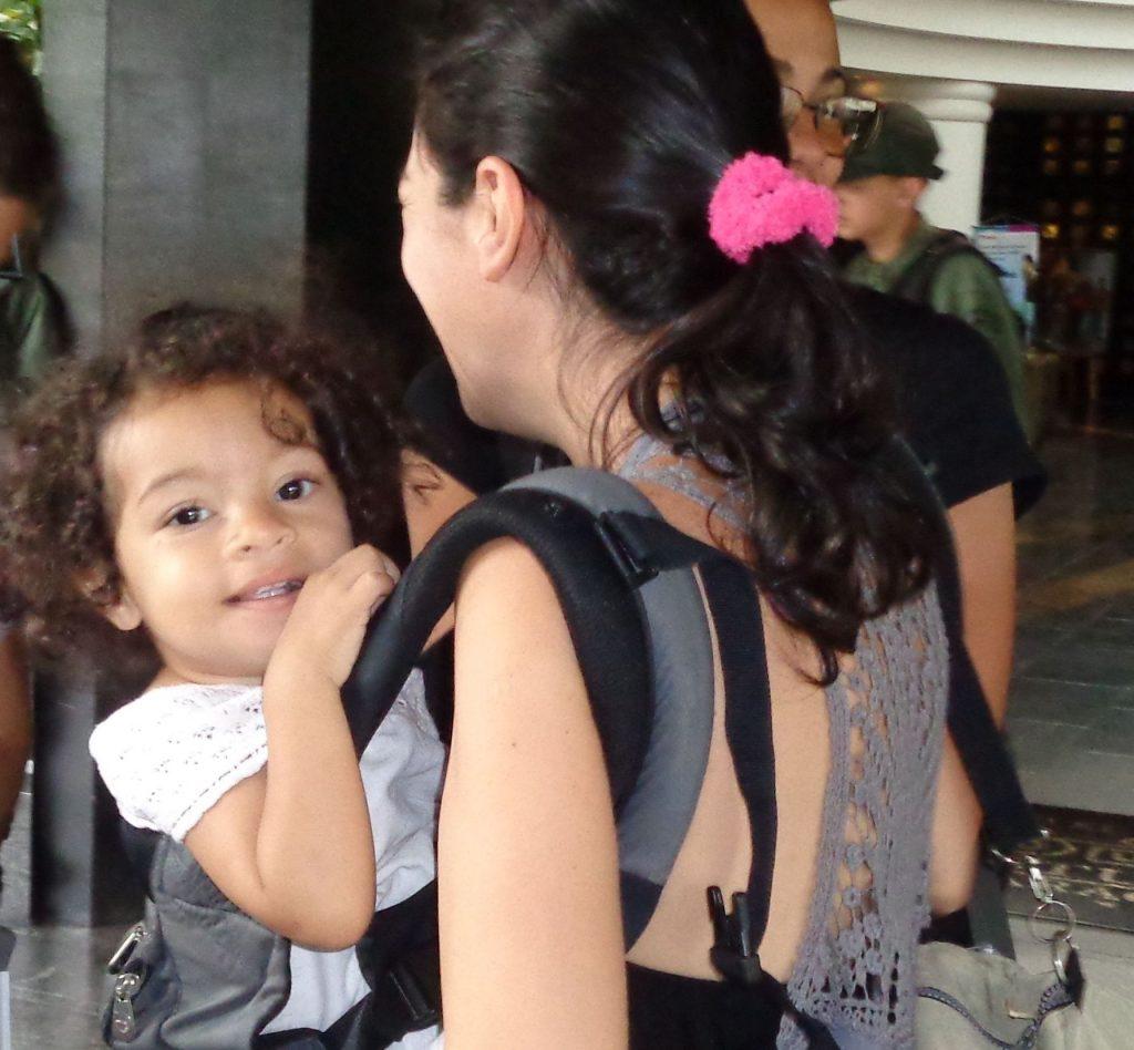Още една усмивка от утрешния ден на Венесуела. Снимка: Къдринка Къдринова