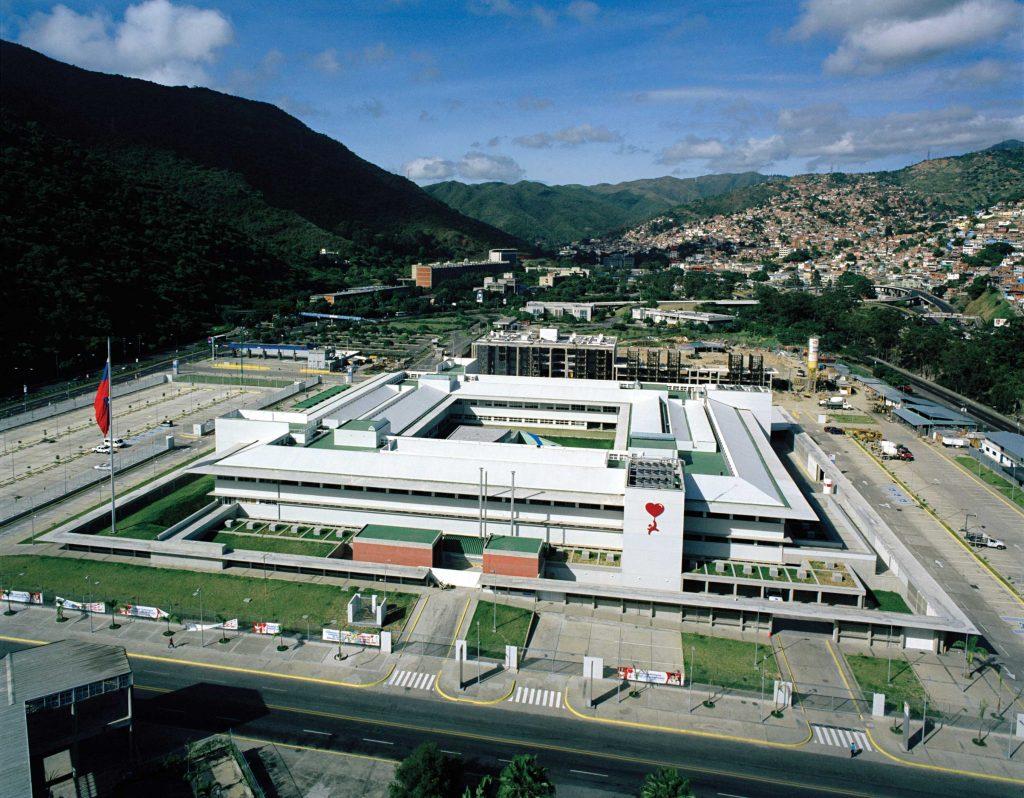 Супермодерната Латиноамериканска детска кардиологична болница в Каракас.