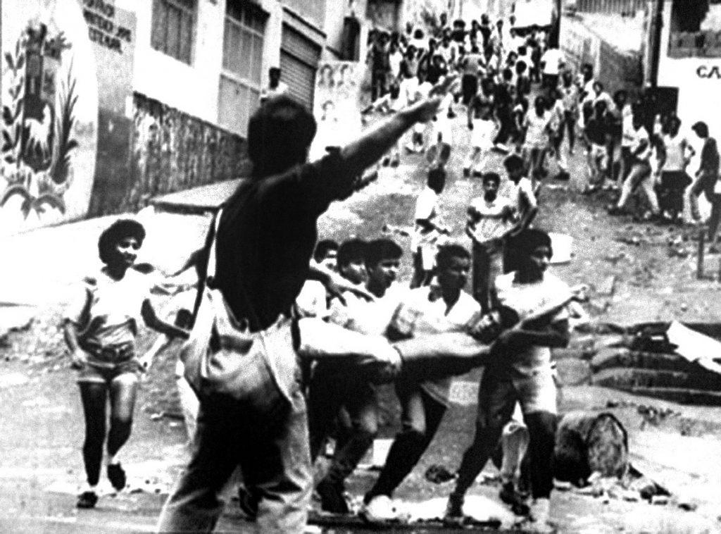 """При гладните бунтове по време на """"Каракасо"""" в началото на 1989-а има много ранени и убити"""